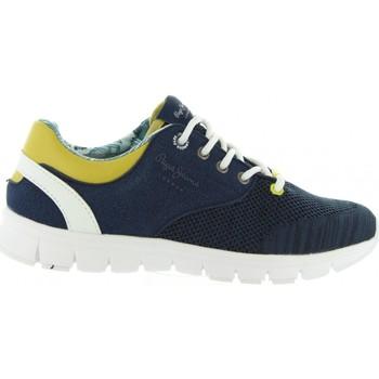 Sapatos Criança Sapatilhas Pepe jeans PBS30272 COVEN Azul