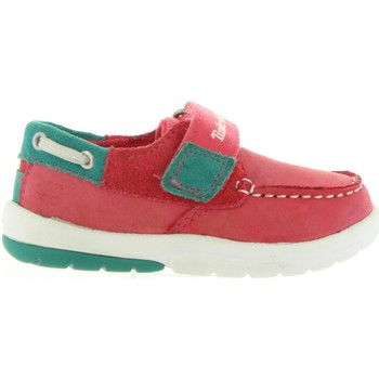 Sapatos Criança Sapato de vela Timberland A19V2 TODDLETRACKS Rosa