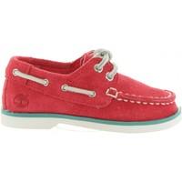 Sapatos Criança Sapato de vela Timberland A1L5V SEABURY Rojo