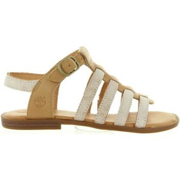 Sapatos Rapariga Sandálias Timberland A1G1Q GIRLS Beige