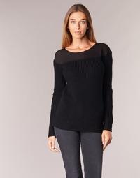Textil Mulher camisolas Armani jeans LAMOC Preto