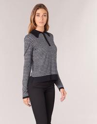 Textil Mulher camisolas Armani jeans LAMAC Cinza