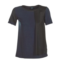 Textil Mulher T-Shirt mangas curtas Armani jeans DRANIZ Marinho / Preto