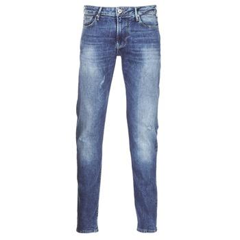 Textil Homem Calças de ganga slim Armani jeans LORETTE Azul