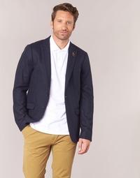 Textil Homem Casacos/Blazers Scotch & Soda DARLO Marinho