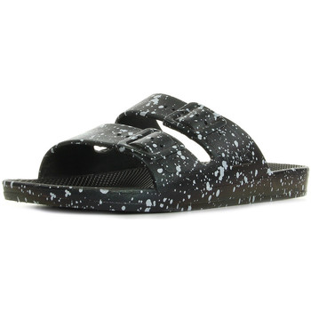 Sapatos Chinelos Freedom Moses Black Splatter Preto