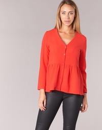 Textil Mulher Tops / Blusas Betty London IHALICE Vermelho