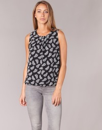 Textil Mulher Tops / Blusas Betty London HARTEUC Preto