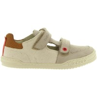 Sapatos Rapaz Sapatilhas Kickers 545540-30 JYROLLE Beige