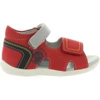 Sapatos Criança Sandálias Kickers 545080-10 BICUBASURF Rojo