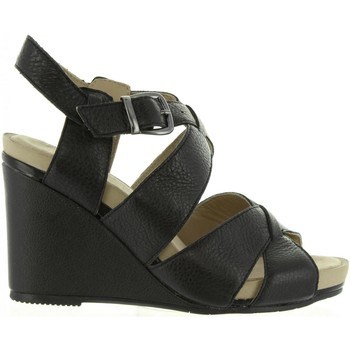 Sapatos Mulher Sandálias Hush puppies 560600-50 FINTAN Negro
