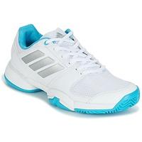 Sapatos Sapatilhas de corrida adidas Performance Barricade Club xJ Branco / Azul
