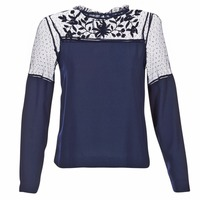 Textil Mulher Tops / Blusas Vero Moda JOSEFINE Marinho