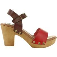 Sapatos Mulher Sandálias Cumbia 30551 Rojo