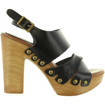 Sapatos Mulher Sandálias Cumbia 30543 Negro
