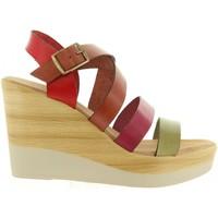 Sapatos Mulher Sandálias Cumbia 30588 Rojo