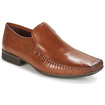 Sapatos Homem Mocassins Clarks Ferro Step Pele