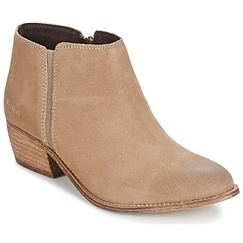 Sapatos Mulher Botins Kickers BOOTY Bege