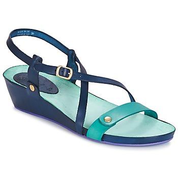 Sapatos Mulher Sandálias Kickers TASTE Marinho / Azul / Lagoa