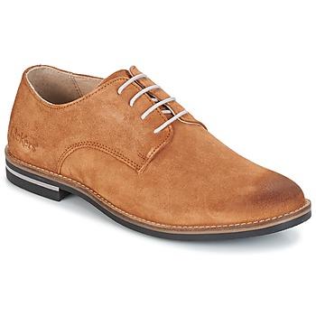 Sapatos Homem Sapatos Kickers ELDAN Camel