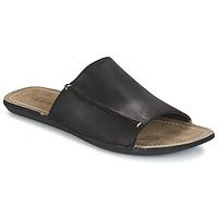 Sapatos Homem Chinelos Kickers SPIKA Preto