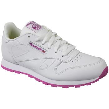 Sapatos Criança Sapatilhas Reebok Sport Classic Leather BS8044 White