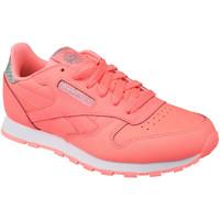Sapatos Criança Sapatilhas Reebok Sport Classic Leather BS8981 Pink