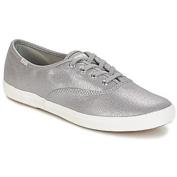 Sapatos Mulher Sapatilhas Keds CH METALLIC CANVAS Prata