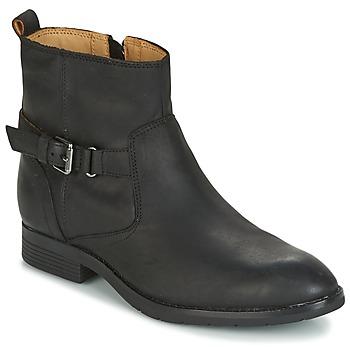 Sapatos Mulher Botas baixas Sebago NASHOBA LOW BOOT WP Preto