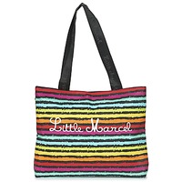 Malas Mulher Cabas / Sac shopping Little Marcel MIRAGE Preto / Multicolor