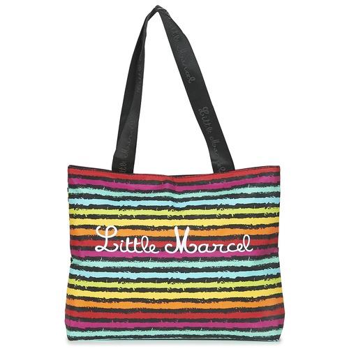 Malas Mulher Cabas / Sac shopping Little Marcel MIRAGE Preto / Multicolor