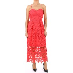 Textil Mulher Vestidos compridos Kocca Vestido MATILI Laranja