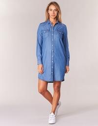 Textil Mulher Vestidos curtos Yurban IHEBELLA Azul