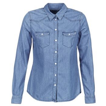 Textil Mulher camisas Yurban IHEFOU Azul