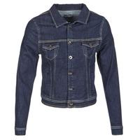Textil Mulher casacos de ganga Betty London IHELEFI Azul