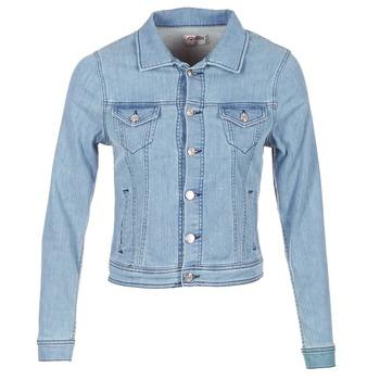 Textil Mulher casacos de ganga Yurban IHELEFI Azul / Claro