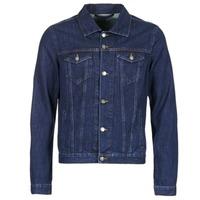Textil Homem casacos de ganga Yurban HEDEM Azul