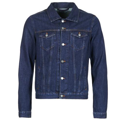 Textil Homem casacos de ganga Yurban IHEDEM Azul