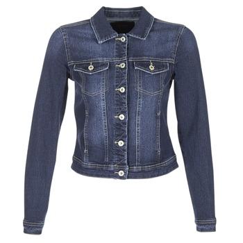 Textil Mulher casacos de ganga Only WESTA Azul / Escuro