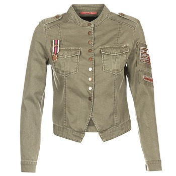 Textil Mulher Casacos/Blazers Only NEW AUSTIN Cáqui