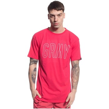 Textil Homem T-Shirt mangas curtas Grimey CAMISETA  ROCK CREEK PARK rosa