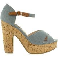 Sapatos Mulher Sandálias Refresh 63254 Azul