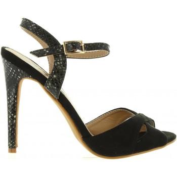 Sapatos Mulher Escarpim Refresh 63496 Negro
