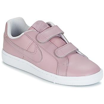 Sapatos Rapariga Sapatilhas Nike COURT ROYALE CADET Rosa
