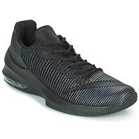 Sapatos Homem Sapatilhas de basquetebol Nike AIR MAX INFURIATE 2 LOW Preto