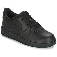 Sapatos Criança Sapatilhas Nike AIR FORCE 1 CADET Preto
