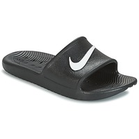 Sapatos chinelos Nike KAWA SHOWER SLIDE Preto / Branco