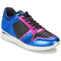 Sapatos Mulher Sapatilhas Bikkembergs KATE 420 Azul / Rosa fúchia