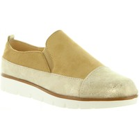 Sapatos Mulher Slip on Top Way B719403-B7200 Gold