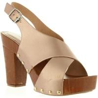 Sapatos Mulher Sandálias Top Way B739390-B7200 Rosa